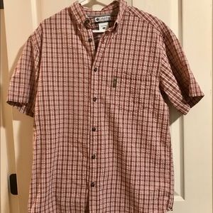 Men's large COLUMBIA button up shirt
